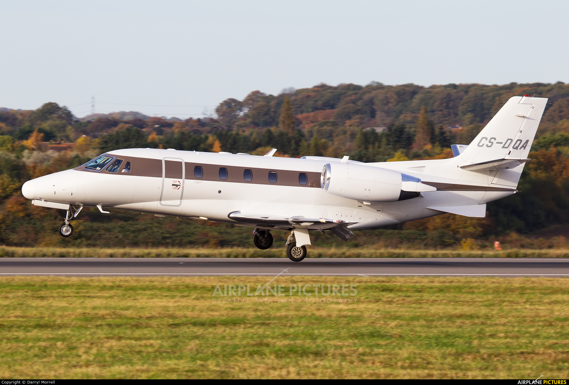 NetJets Europe (Portugal) CS-DQA aircraft at London - Luton