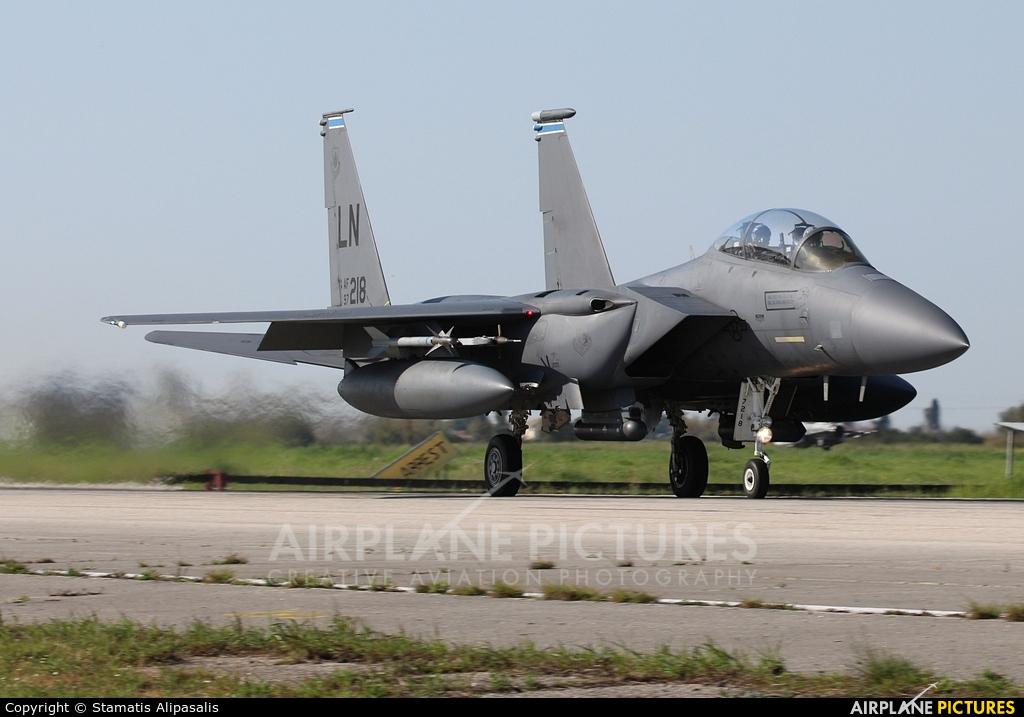 USA - Air Force 97-0218 aircraft at Andravida AB