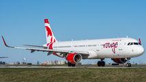 C-FJQK - Air Canada Rouge Airbus A321 aircraft