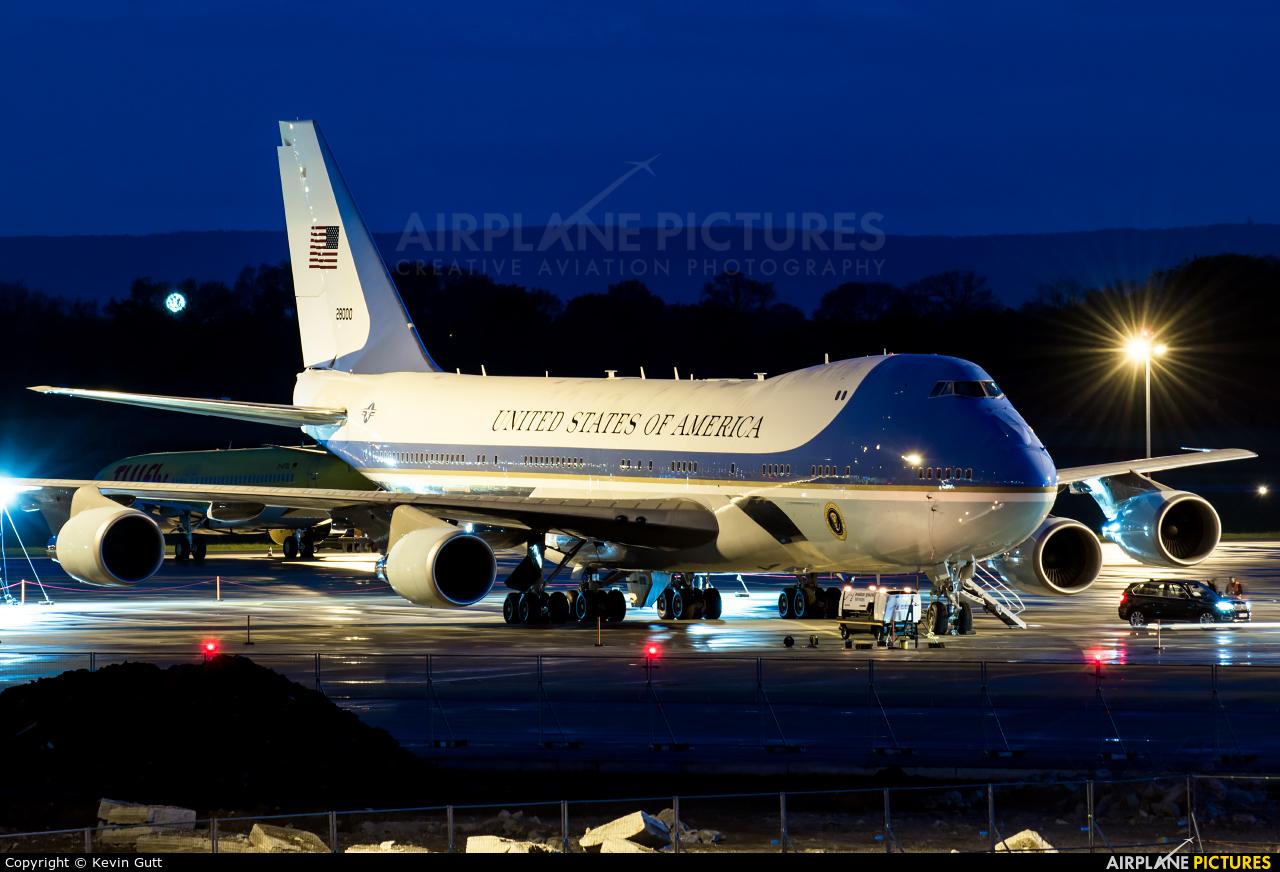 USA - Air Force 82-8000 aircraft at Hannover - Langenhagen