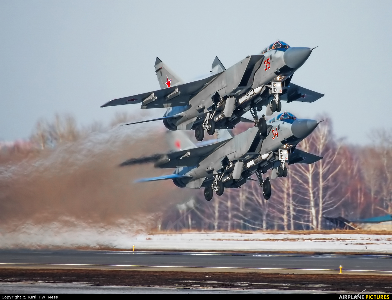Russia - Air Force 35 aircraft at Undisclosed Location