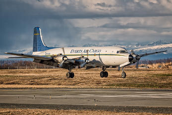 N747CE - Everts Air Cargo Douglas DC-6A