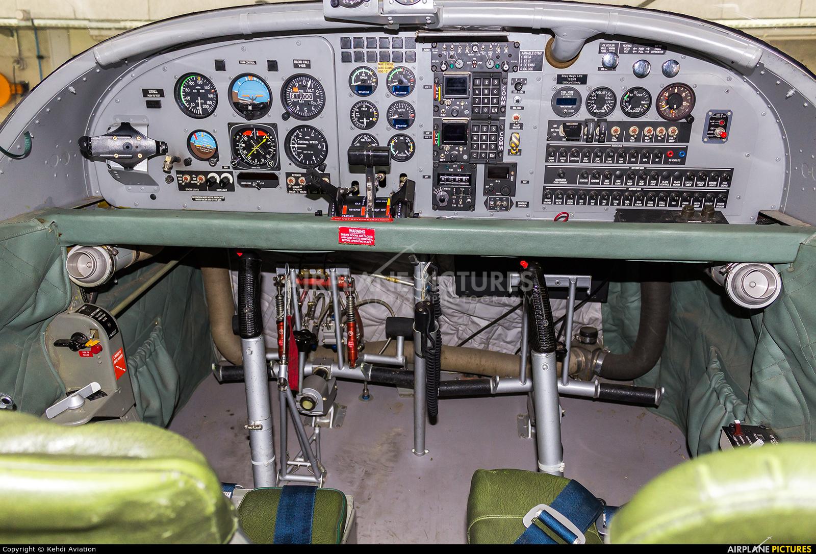 Switzerland - Air Force V-618 aircraft at Locarno