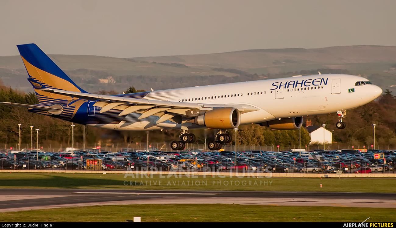 Shaheen Air International AP-BKL aircraft at Manchester
