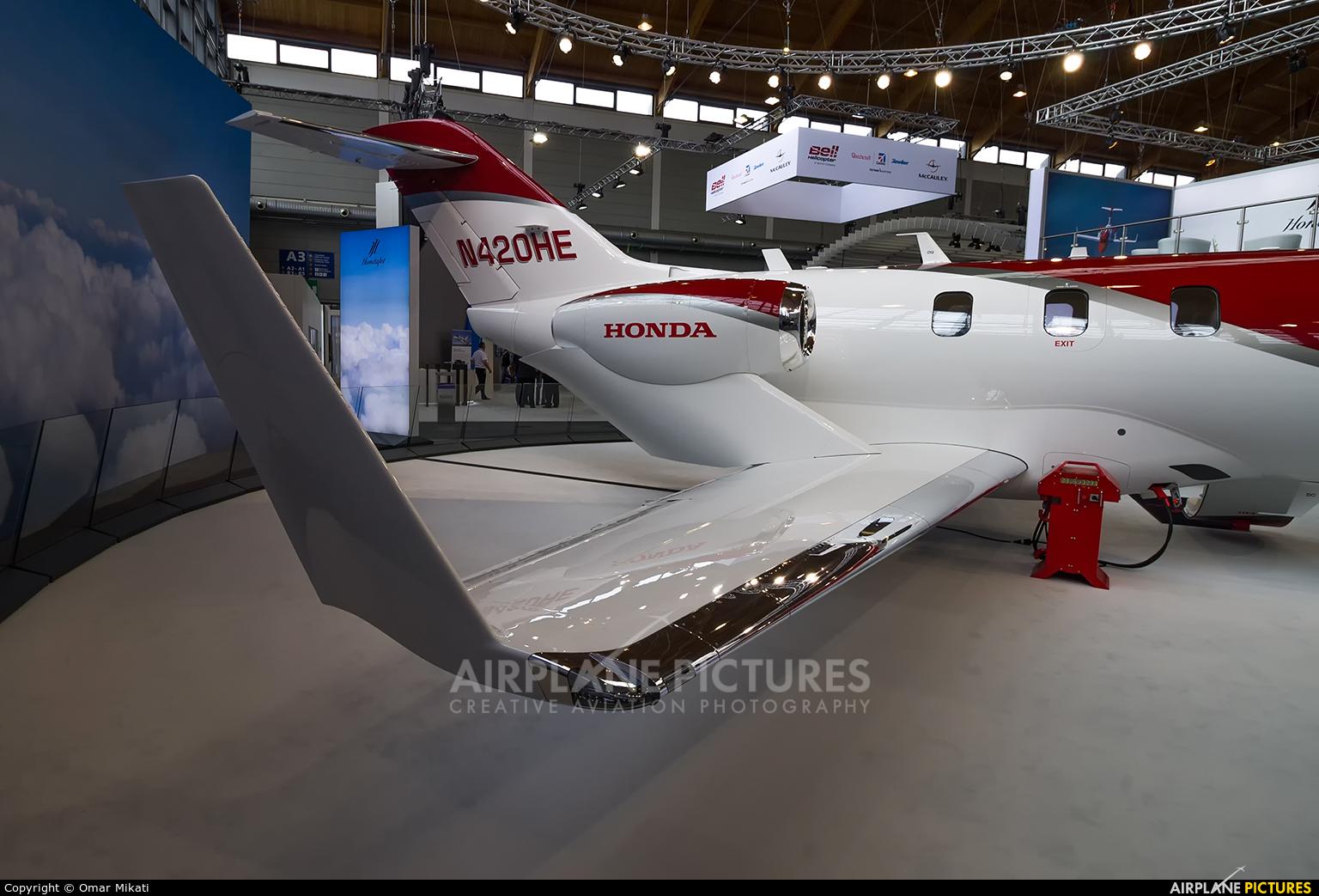 Honda Aerospace N420HE aircraft at Friedrichshafen