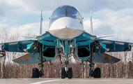 11 - Russia - Air Force Sukhoi Su-34 aircraft