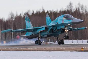 RF-95802 - Russia - Air Force Sukhoi Su-34