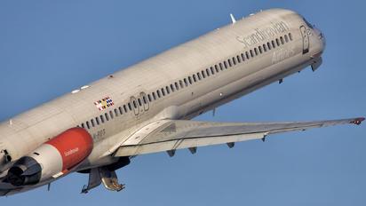 LN-ROT - SAS - Scandinavian Airlines McDonnell Douglas MD-82