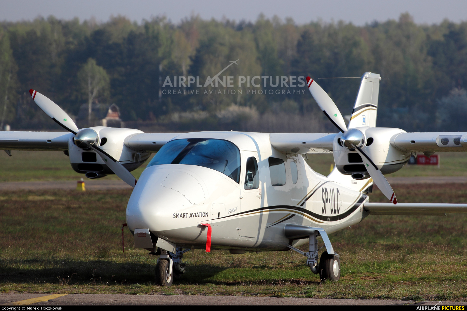 Smart Aviation SP-ULC aircraft at Warsaw - Babice