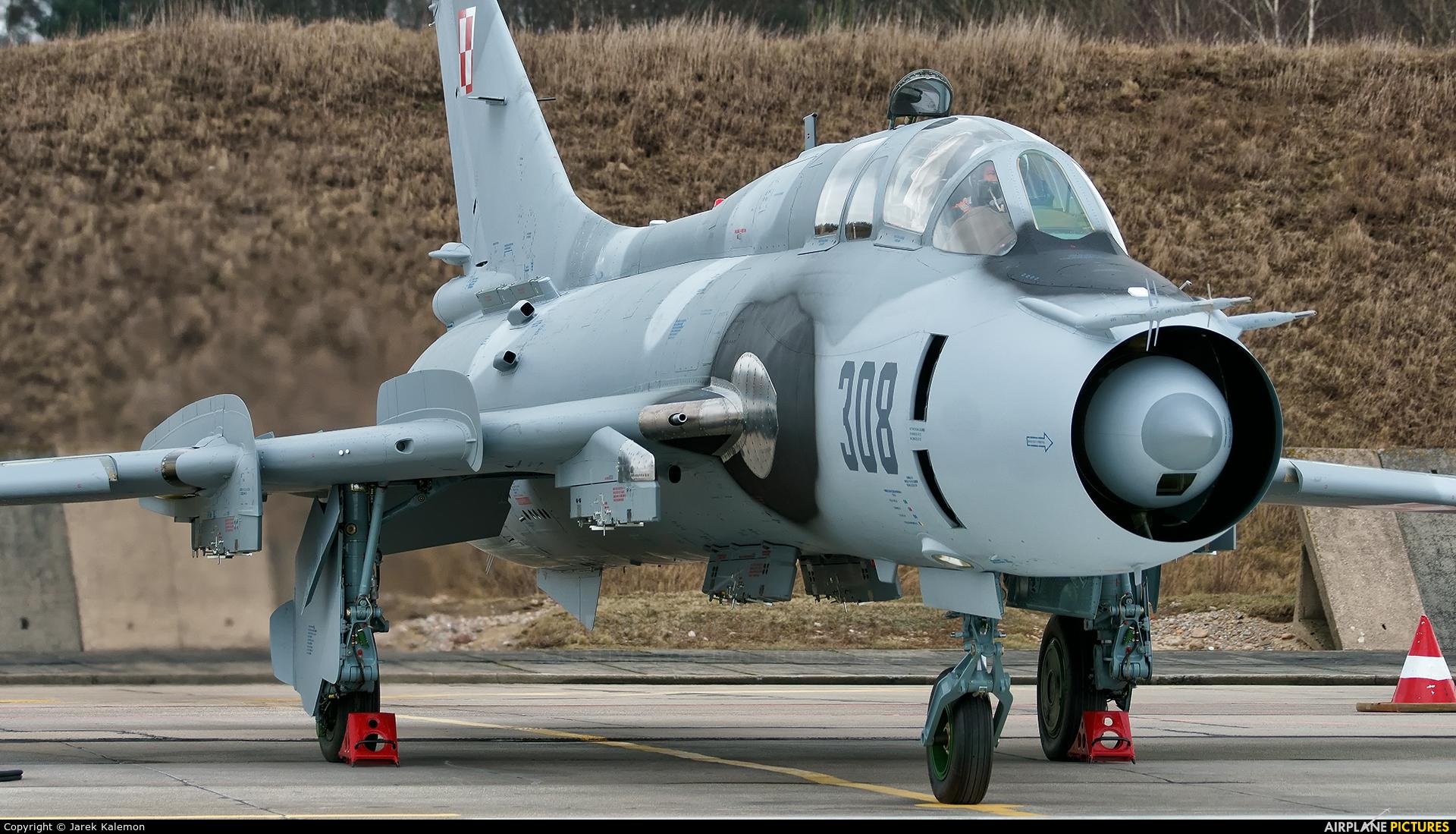 Poland - Air Force 308 aircraft at Świdwin