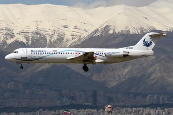 EP-ASQ - Iran Aseman Fokker 100