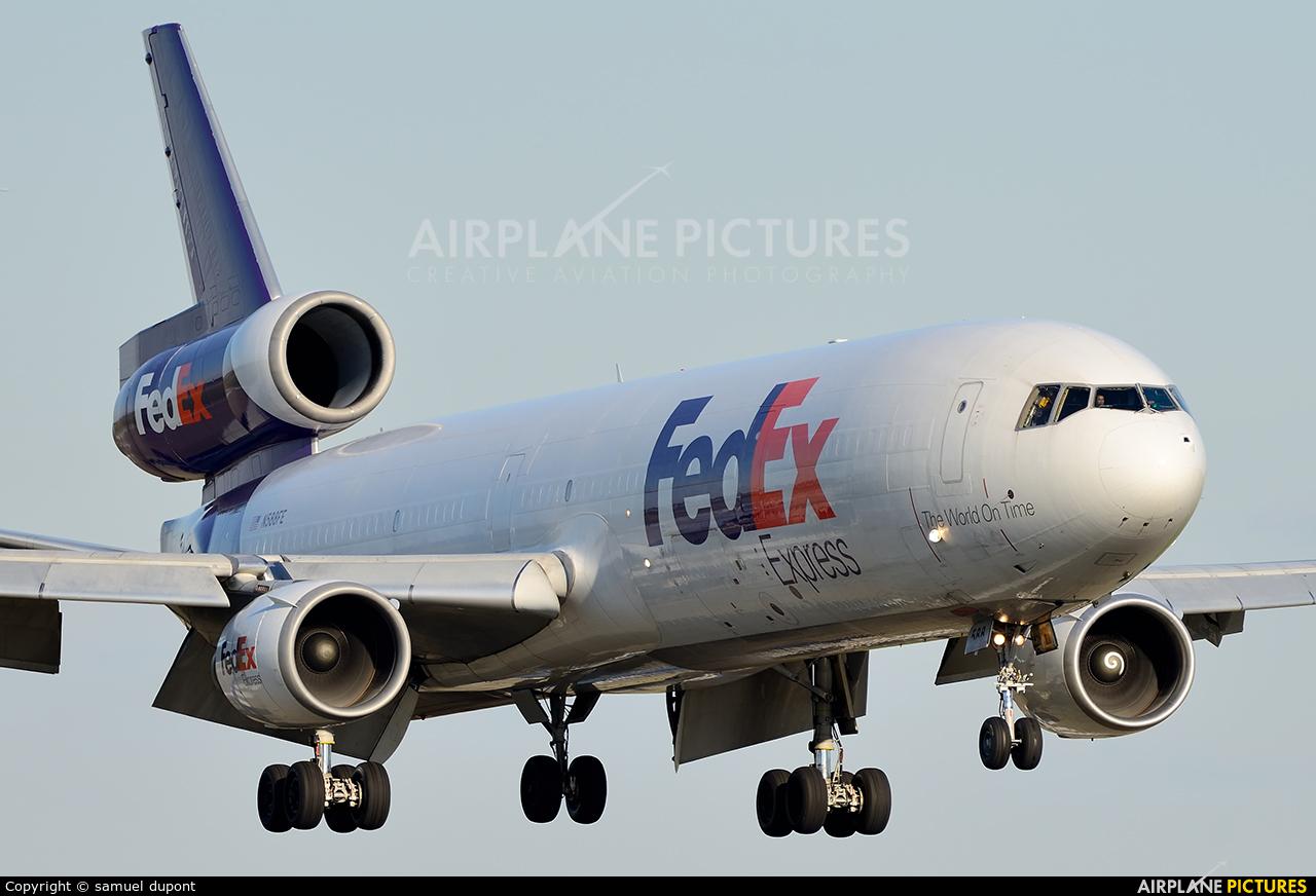 FedEx Federal Express N588FE aircraft at Paris - Charles de Gaulle
