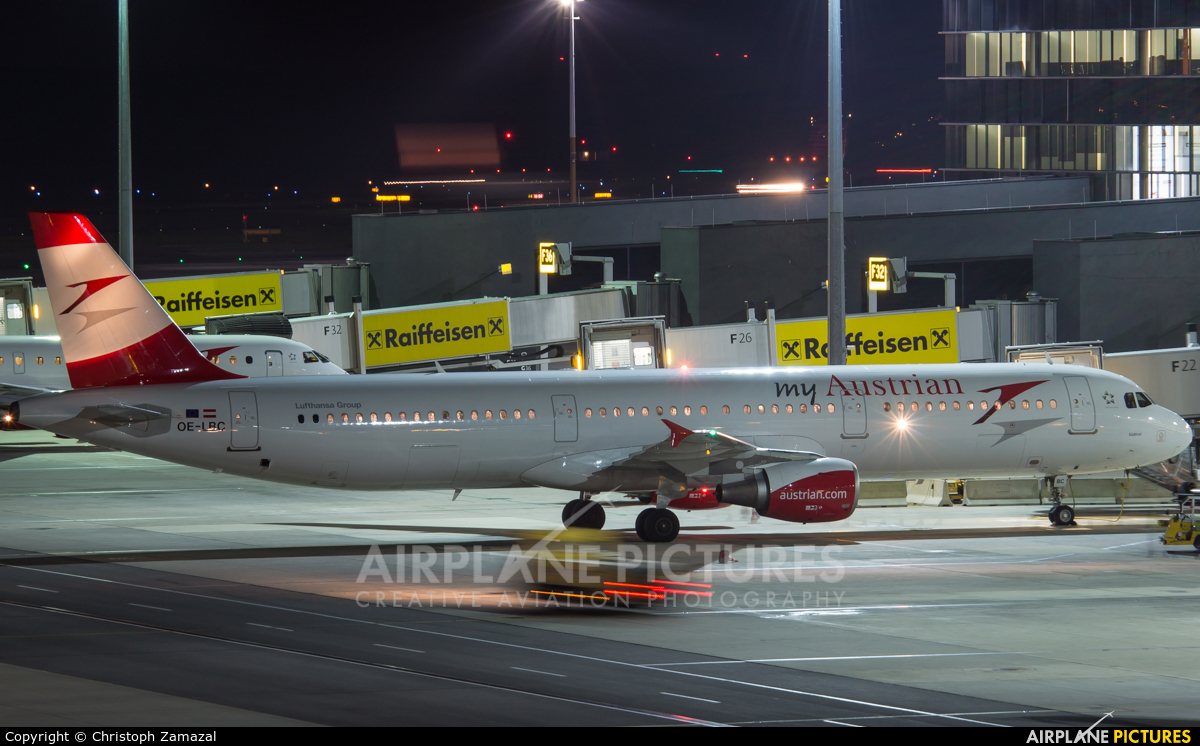 Austrian Airlines/Arrows/Tyrolean Airbus A321 At