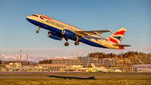G-EUUC - British Airways Airbus A320 aircraft