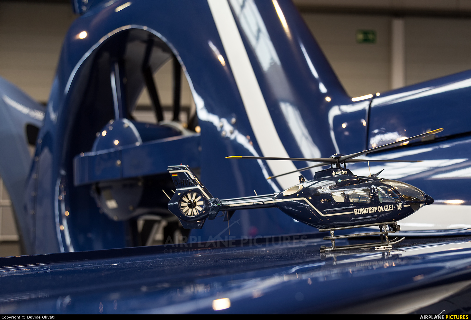 Germany -  Bundespolizei D-HLTD aircraft at Friedrichshafen