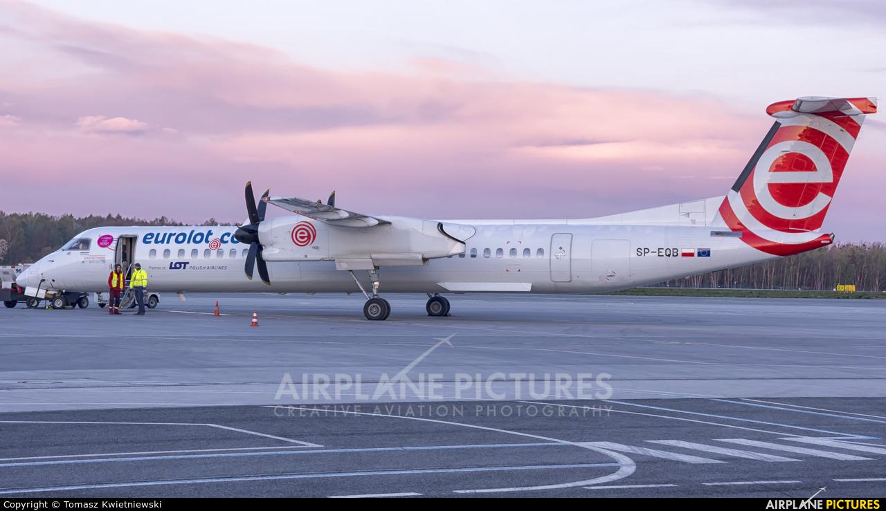 euroLOT SP-EQB aircraft at Wrocław - Copernicus