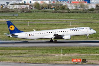 D-AEBL - Lufthansa Regional - CityLine Embraer ERJ-195 (190-200)