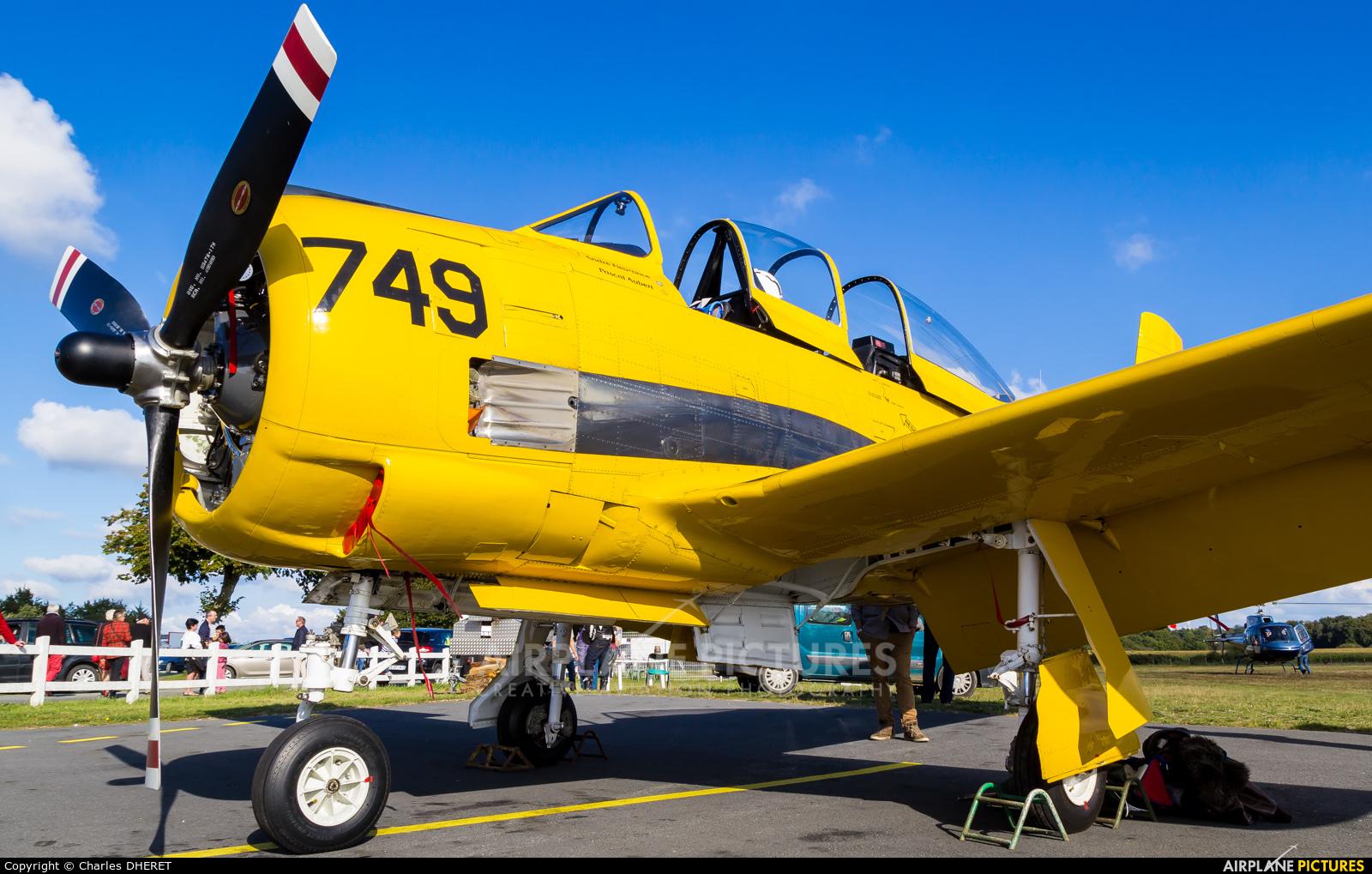 Private F-AZHR aircraft at Dinan Airfield