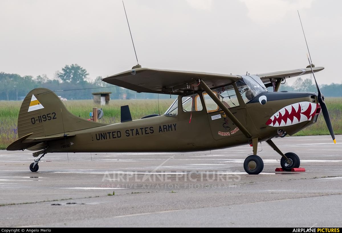 Private I-BDOG aircraft at Treviso - Istrana