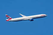 G-STBD - British Airways Boeing 777-300ER aircraft