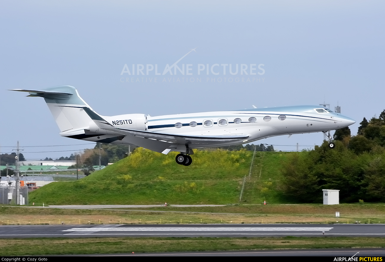 Wilmington Trust Company N251TD aircraft at Tokyo - Narita Intl