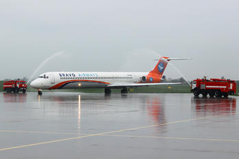 UR-COB - Bravo Airways McDonnell Douglas MD-83