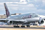 A7-APA - Qatar Airways Airbus A380 aircraft