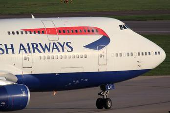 G-BNLV - British Airways Boeing 747-400