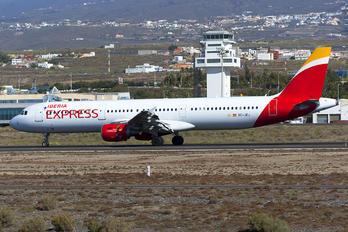 EC-JEJ - Iberia Express Airbus A321