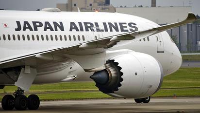 JA842J - JAL - Japan Airlines Boeing 787-8 Dreamliner