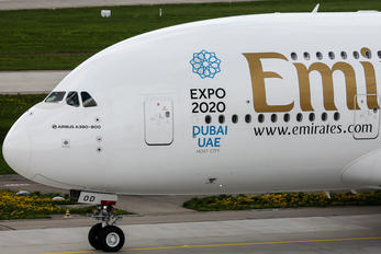 A6-EOD - Emirates Airlines Airbus A380