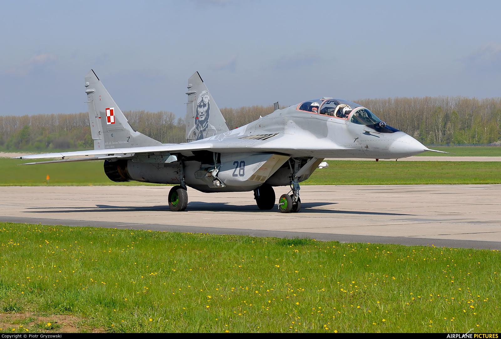 Poland - Air Force 28 aircraft at Mińsk Mazowiecki