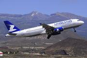 EI-EUB - Livingston Airbus A320 aircraft
