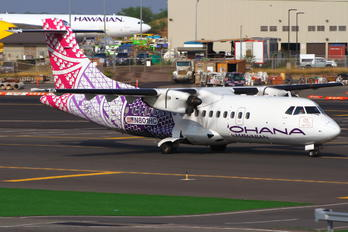 N801HC - Hawaiian Airlines ATR 42 (all models)