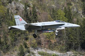 J-5021 - Switzerland - Air Force McDonnell Douglas F/A-18C Hornet