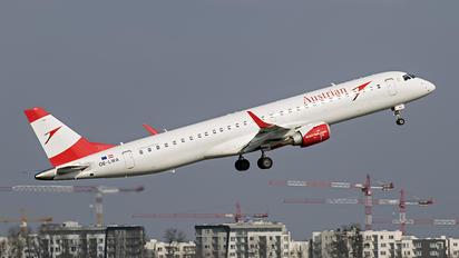 OE-LWA - Austrian Airlines/Arrows/Tyrolean Embraer ERJ-195 (190-200)