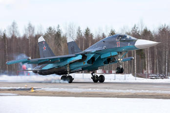 11 RED - Russia - Air Force Sukhoi Su-34