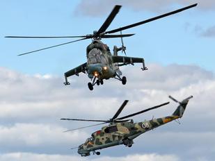 12 - Belarus - Air Force Mil Mi-24P