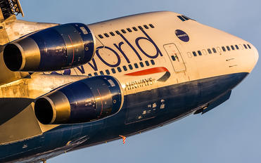 G-CIVL - British Airways Boeing 747-400