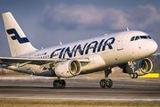 OH-LVC - Finnair Airbus A319 aircraft