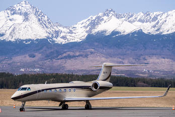 OK-VPI - Private Gulfstream Aerospace G-V, G-V-SP, G500, G550