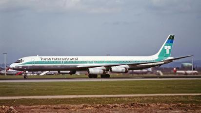 - - Trans International Douglas DC-8-63