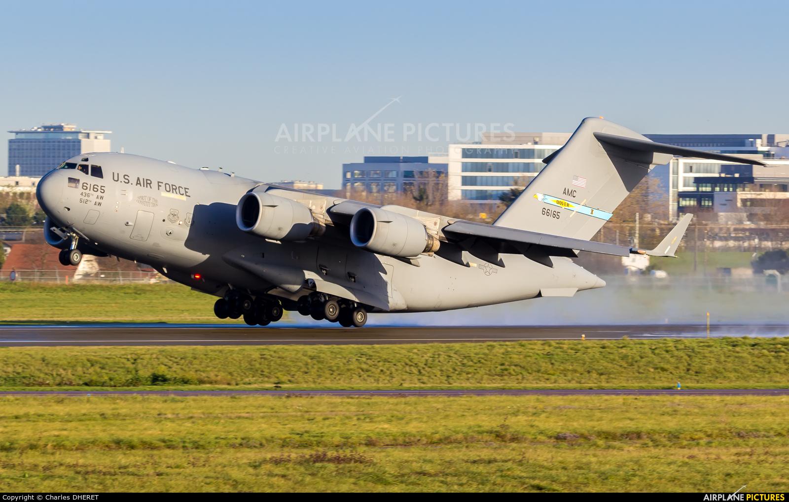USA - Air Force 06-6165 aircraft at Paris - Orly