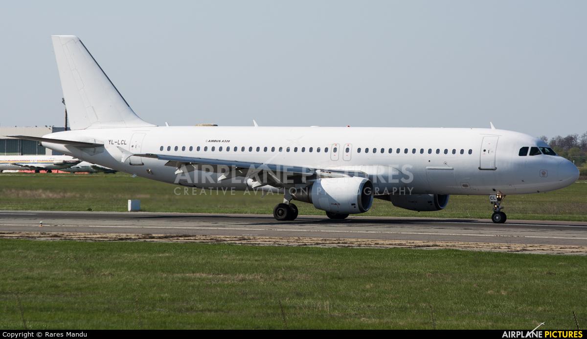 SmartLynx YL-LCL aircraft at Bucharest - Henri Coandă