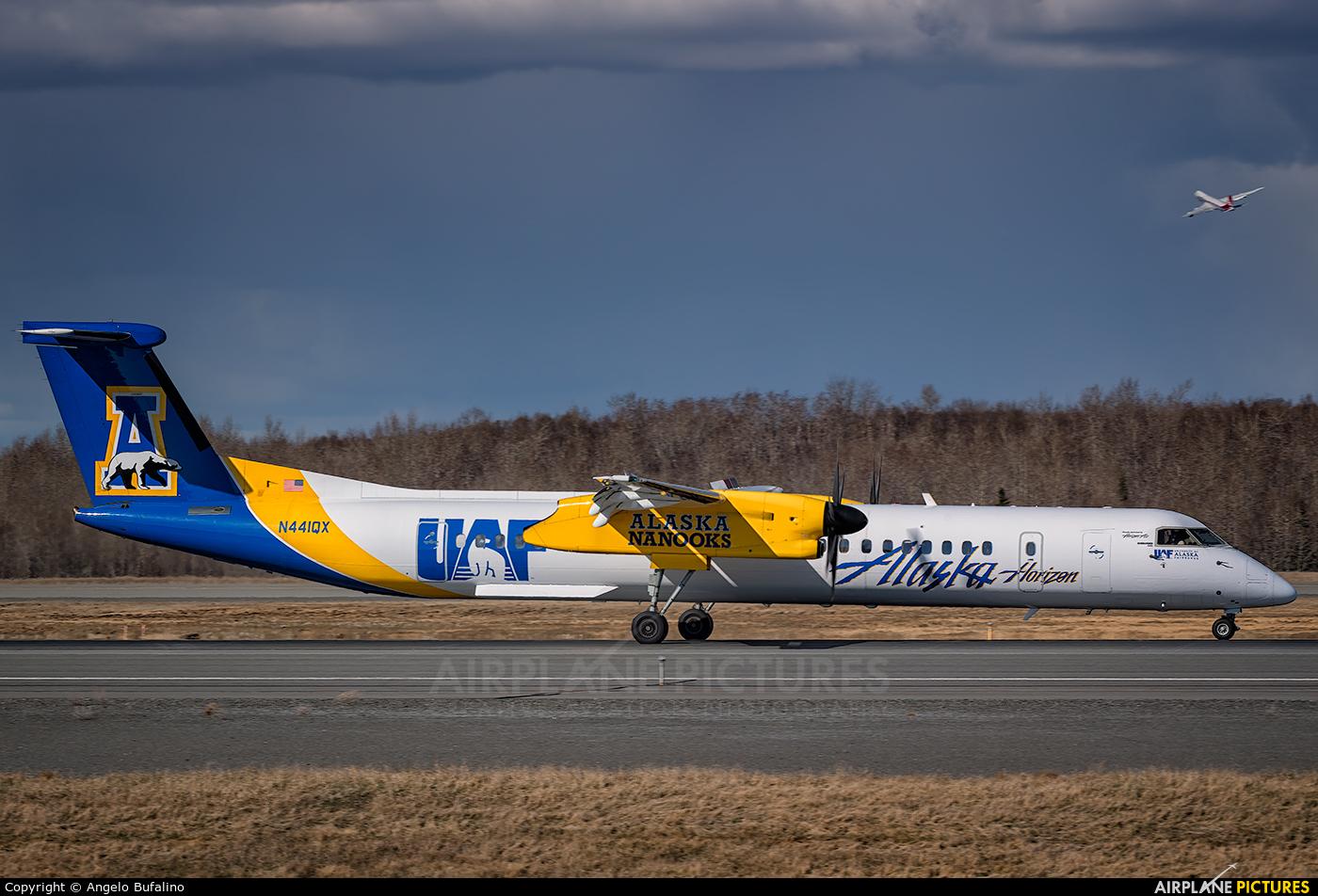 Alaska Airlines - Horizon Air N441QX aircraft at Anchorage - Ted Stevens Intl / Kulis Air National Guard Base