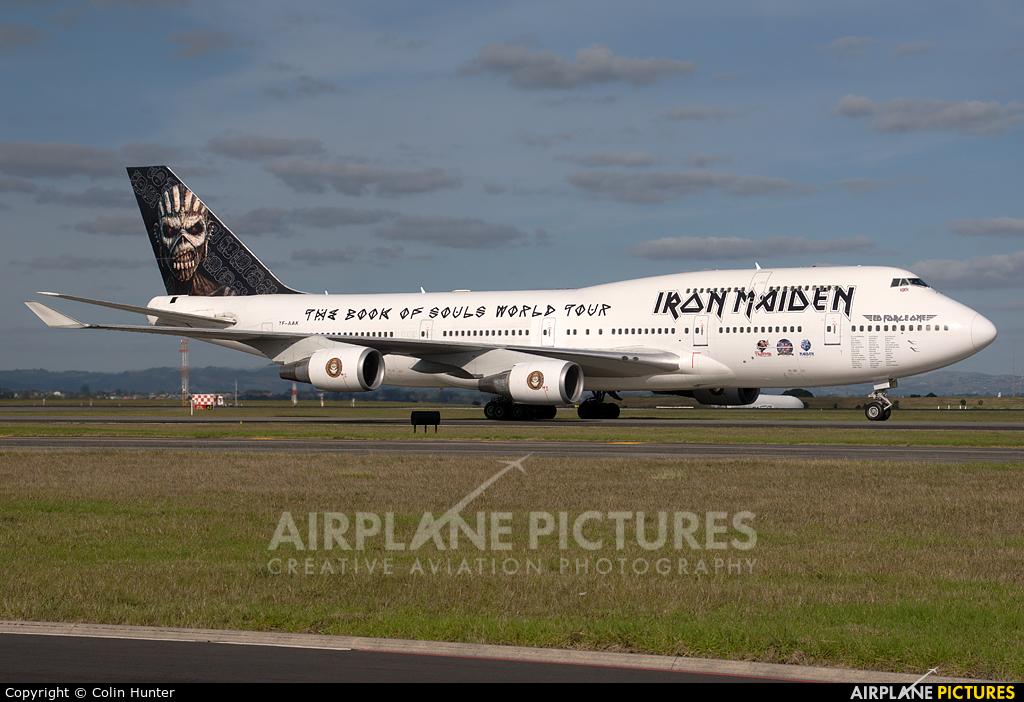 Air Atlanta Icelandic TF-AAK aircraft at Auckland Intl