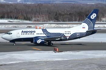 RA-73002 - Aurora Boeing 737-500