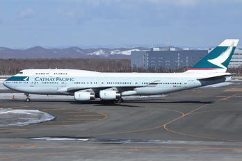 B-HUE - Cathay Pacific Boeing 747-400