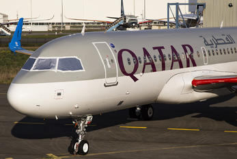 A7-AJE - Qatar Airways Airbus A320 NEO