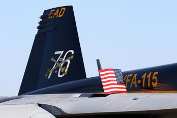 166859 - USA - Navy Boeing F/A-18E Super Hornet